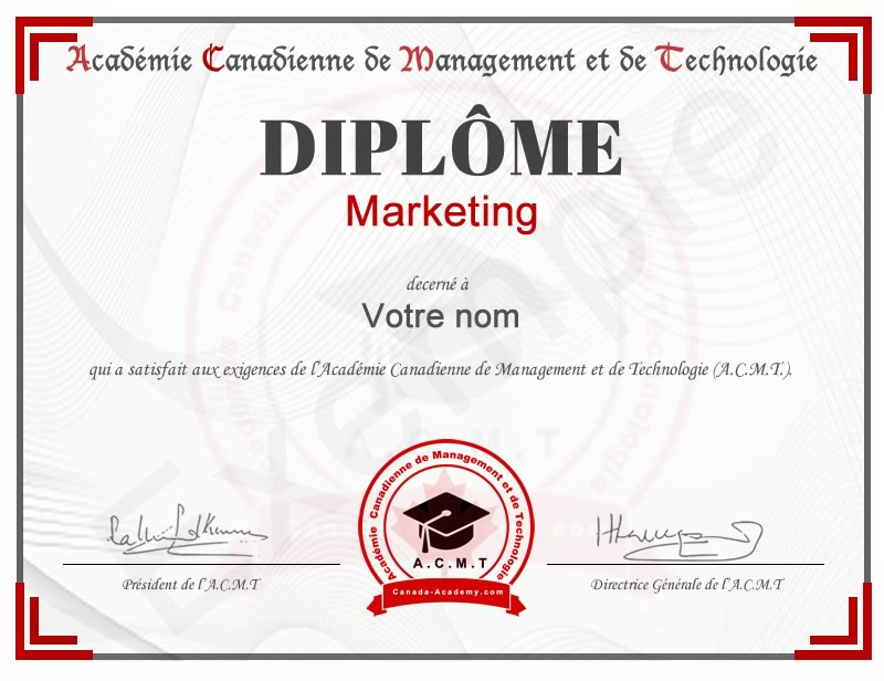 Meilleur diplome en Marketing en ligne