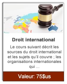 Droit international