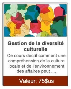 Gestion de la diversité culturelle