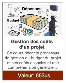 Gestion des coûts d'un projet