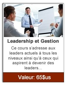Leadership et Gestion