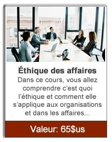 ethique des affaires